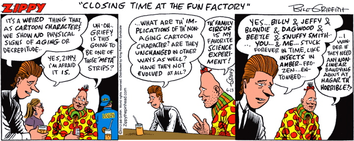 Simply excellent Comic pinhead strip excited too